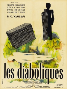 LES DIABOLIQUES - French Poster by Raymond Gid 1